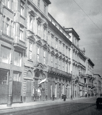 Eastern Institute in Warsaw, Tepper Palace, 7 Miodowa str. Warsaw- the building no longer exists