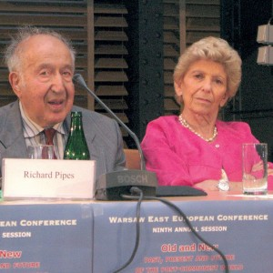 Prof. Richard Pipes and Prof. Helene Carrere D'Encausse - Round Table discussion, WEEC 2012