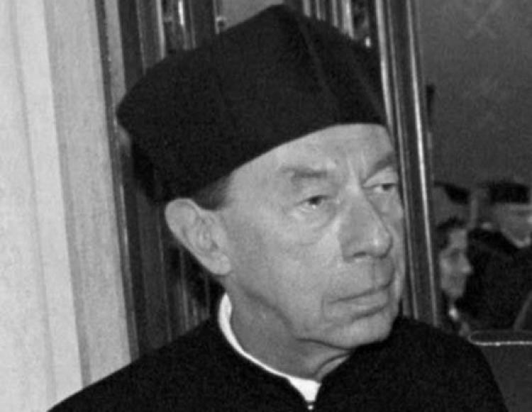 Prof. Piotr Wandycz. Fot. PAP/J. Bednarczyk