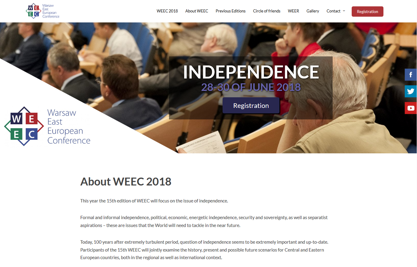 warsaw east european conference